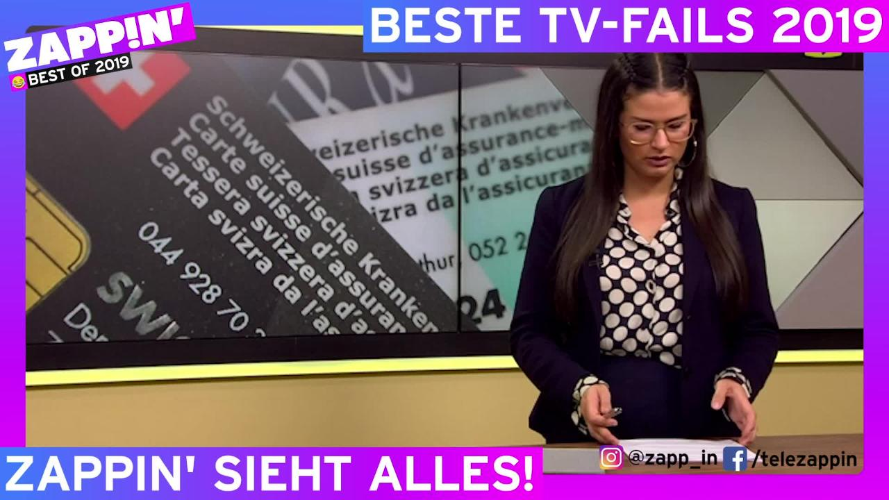 """Preview image for """"Best of TV-Pannen 2019 by Zappin'"""""""